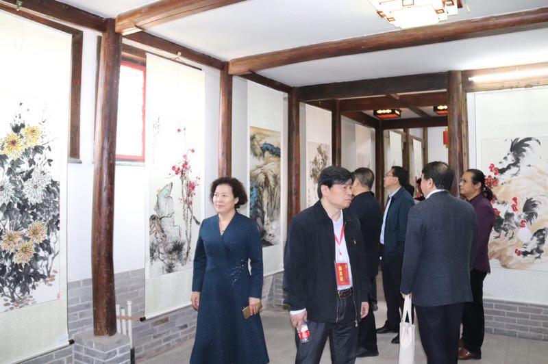 寒亭区第16届杨家埠风筝年画艺术节在我公司梦想庭院项目举办
